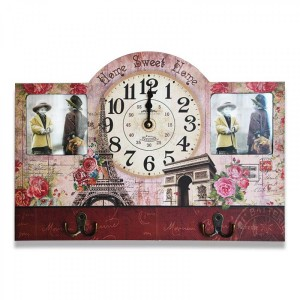 Resim Çerçeveli Duvar Saati