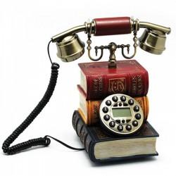 Antik Kitaplı Telefon