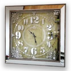 Aynalı Duvar Saati