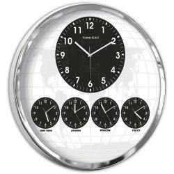 5'li Dünya Duvar Saati
